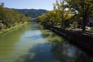 京都 平安神宮の川