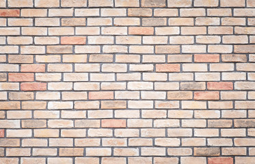 Red brick wall texture and seamless background