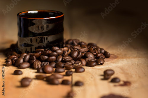 Черный кофе эспрессо
