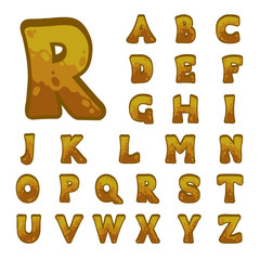 Stone game alphabet for user interfaces