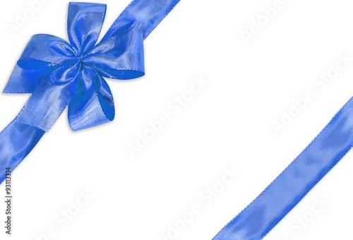 """Assez noeud papillon bleu décoration paquet cadeau """" photo libre de  RU47"""