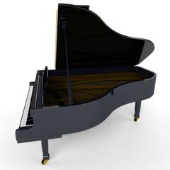 Klavier / Piano Seitenansicht