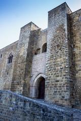 Entrata del Castello di Federico II a Lagopesole (PZ)