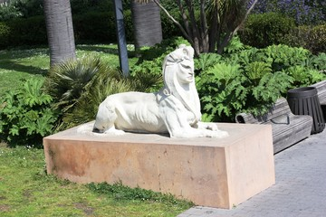 Arthur Putnam's Sphinx in Golden Gate Park in San Francisco, USA