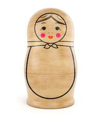 Matryoshka wood doll