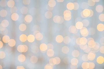 blurred golden lights background