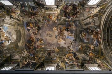 Church of Sant'Ignazio di Loyola in Rome, Italy.