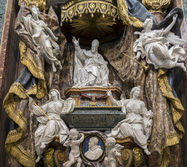 Funerary monument of the Pope Gregory XV