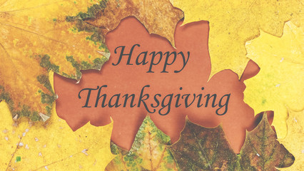 Happy Thanksgiving. Thanksgiving day.