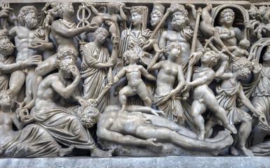 Ancient Roman sarcophagus
