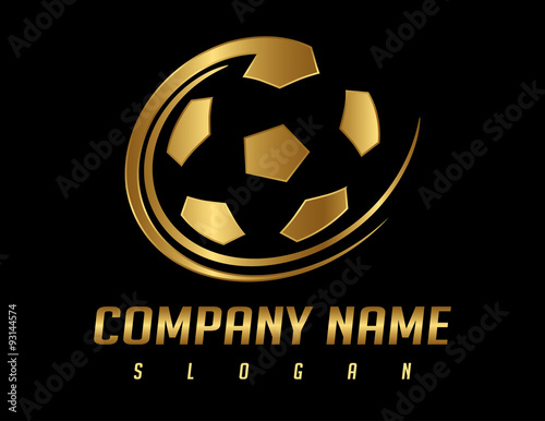 golden ball logo stock image and royalty free vector files on