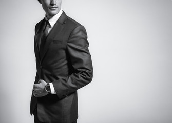 Man in suit