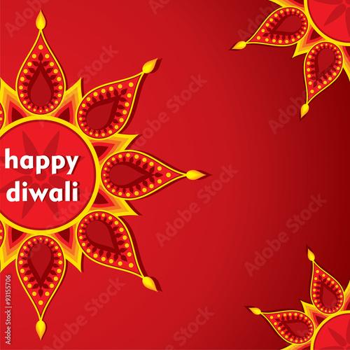 Creative happy diwali greeting card design vector stock image and creative happy diwali greeting card design vector m4hsunfo