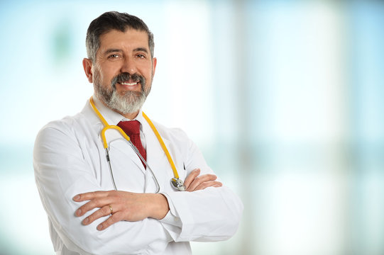 Senior Doctor Smiling