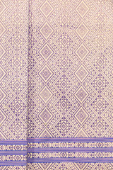 Hand-woven Purple cloth, northern Thailand