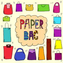 Paper bags color