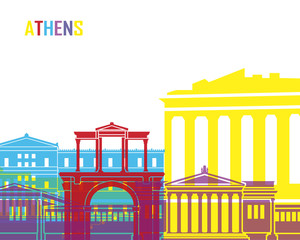 Athens skyline pop