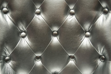 Silver leather texture
