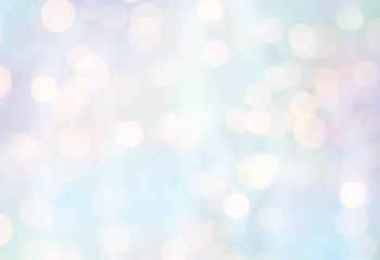 christmas background with blurred holidays lights