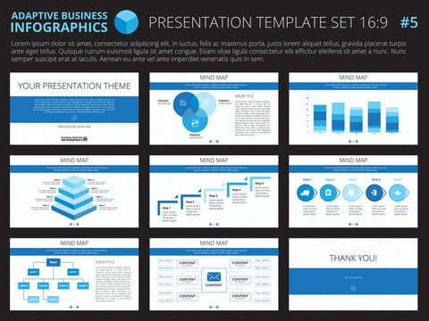 Presentation template set 5