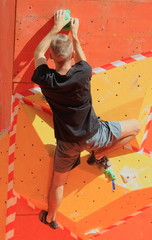 arrampicata artificiale