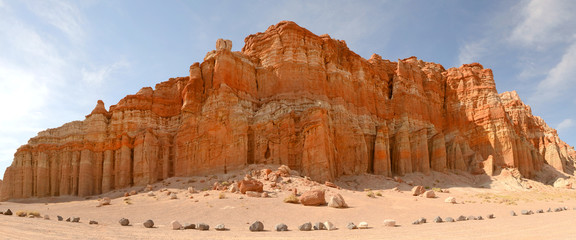 Rock formation in the Red Rock area of California