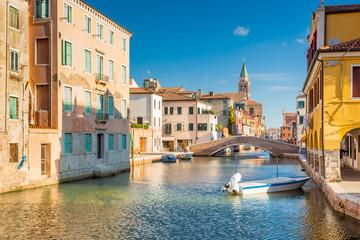 Chioggia, view of Canal Vena