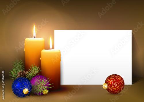 Zweiter advent vorlage f r weihnachtskarte gru karte einladungskarte zwei leuchtenden - Vorlage weihnachtskarte ...