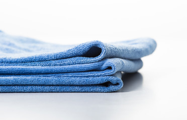 Microfiber towel for car wipe