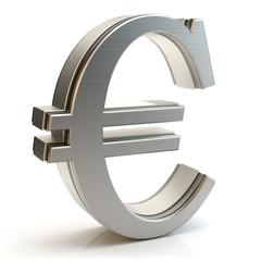 Euro metal sign
