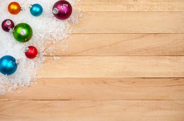 Christmas: Holiday Decoration Background