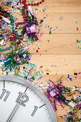 New Year's: Midnight Celebration Party Background