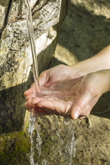 Pure natural water source