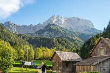 The Grosser Buchstein is a 2224 m high mountain in the Ennstal Alps in Styria. He rises north of the Enns at the entrance of the Gesäuse and is part of the homonymous National Park Gesäuse