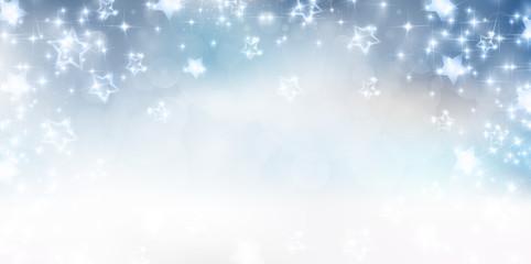 星 雪 背景