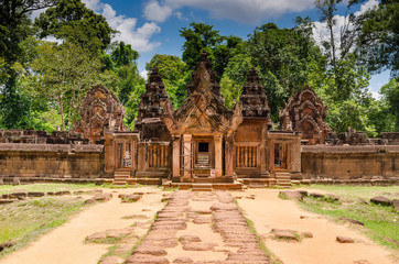 Banteay Srei temple, Siem Reap,Cambodia