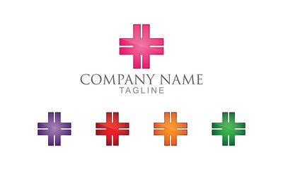 Simple Medical Logo Vector