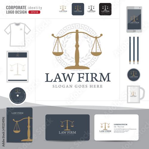 Law logo,law firm,law office,law Logotype corporate identity ...