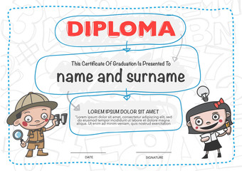 Certificates kindergarten and elementary and secondary education