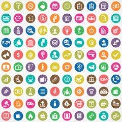 credit 100 icons universal set