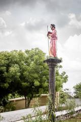 Statue of St. Thomas the apostle