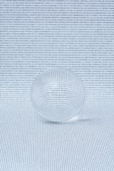 Zahlen in Glaskugel