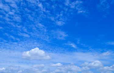 Blue sky and with cloud backgrounds