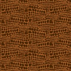 Animal skin hand drawn texture, Vector seamless pattern, sketch drawing animal skin print