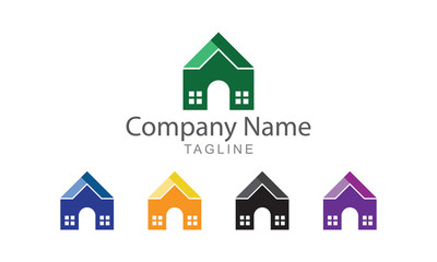 Property and Real Estate Logo Vector