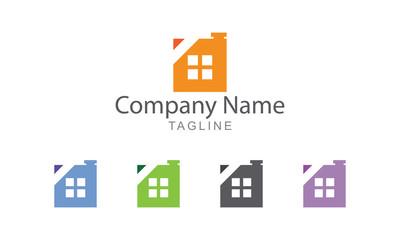 Property Real Estate Vector Logo
