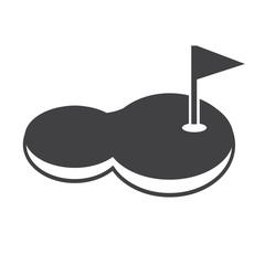 golf court icon