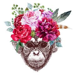 Vector monkey