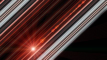 futuristic stripe design with lights