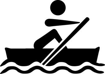 Rowing Paddling icon